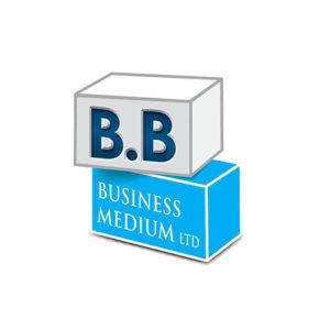 """עיצוב לוגו בי.בי. מדיום לעסקים בע""""מ"""